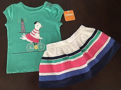 NWT Gymboree Girl Bright Days Ahead Horse Tee/& TuTu Skirt  Outfit 2T 3T 4T 5T