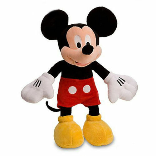 """NEW Stuffed Toy Licensed NWT Disney Mickey Mouse 18/"""" Plush Doll"""