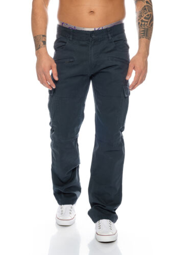 Herren Cargo Hose Outdoor Hose Chino Pant Herrenhose Freizeit H-107 W28-W38