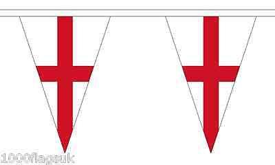 Yorkshire New Triangular Bunting 12 flags 5 metre Bunting