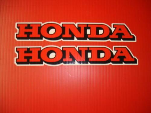 1973 Honda XR 75 Gas Tank Decal Set AHRMA JT DG FOX