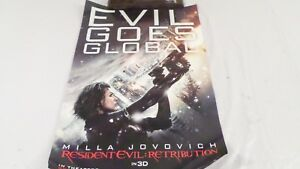 Resident Evil Retribution Evil Goes Global Movie Advertising