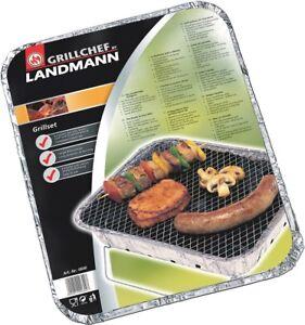Landmann-Einweggrill-27-x-23-cm-Grill-Einweg-mit-Brennstoffmaterial