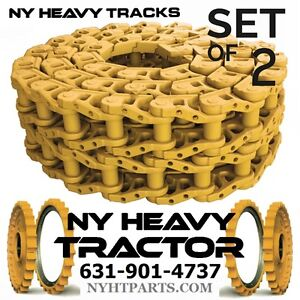 Details about TWO ID627/36 36 LINK TRACK CHAIN FITS JOHN DEERE 1010 DOZER