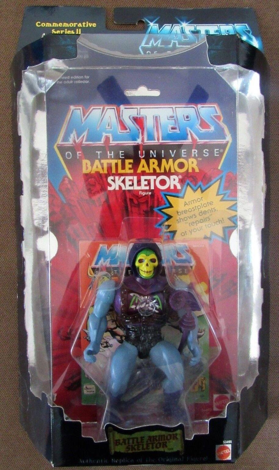 Masters of the Universe Commemorative Series BATTLE ARMOR SKELETOR NOC