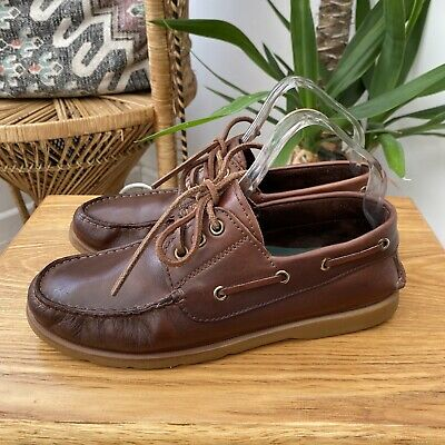 Russell \u0026 Bromley Leather Deck Shoes