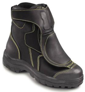 OTTER 25299 Sicherheitsschuh Sicherheitsschuhe Schuhe Stiefel Hoch Feuerwehr