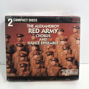 Alexandrov-Red-Army-Chorus-and-Dance-Ensemble-2-CD-Box-Set-Factory-Sealed