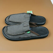 Sanuk Casual  Mens Shoes You Got My Back II Slipper Army Green Size US 11//Eur 44
