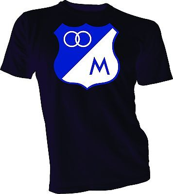 Clothing, Shoes & Accessories Millonarios Fc Futbol Club De Colombia Soccer T-shirt Camiseta New Vintage Bb1 Sophisticated Technologies