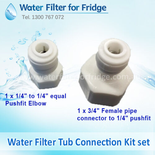 10M 1//4inch Hose Connection Kit External Water Filter FiltaMate FMP600