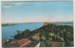 Egypt postcard - Port Said, View of the Canal (A38)