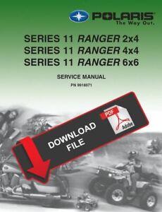 ispacegoa.com Polaris 2003 Ranger 4x4 Service Manual ATV, Side-by ...