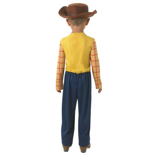 Boys Kids Woody Toy Story Official Disney Book Day Fancy Dress Costume 2-8