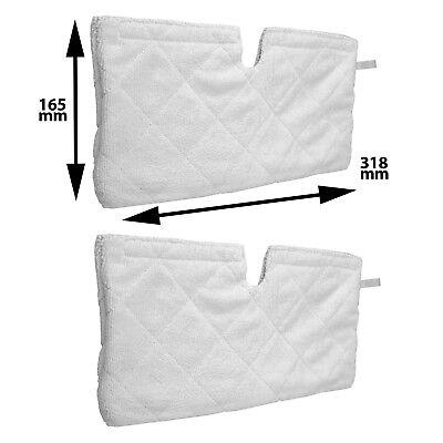 6 x Tasca Cover Pads per SHARK S3250 s3251 XT3101 LAVAPAVIMENTI A VAPORE