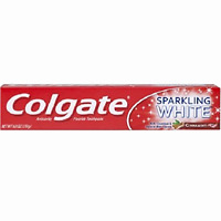 Colgate Complete Whitening Toothpaste Sparkling White Cinnamon Gel Toothpaste