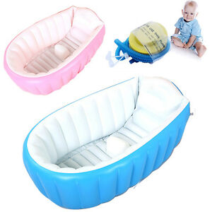 Image Is Loading Baby Infant Inflatable Bath Tub Seat Mommy Helper