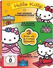 DVD-Set: Hello Kitty - 3 DVDs mit je 5 tollen Episoden, 165 Minuten Film-Spaß