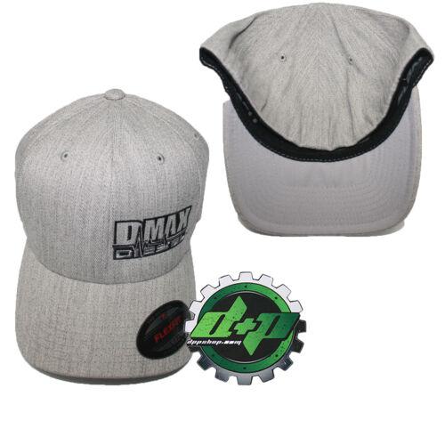 Dmax truck diesel Duramax flexfit hat ball cap fitted flex fit l//xl heather