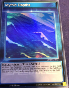 Super Rare Attack from the Deep Mythic Depths SBAD-ENS02