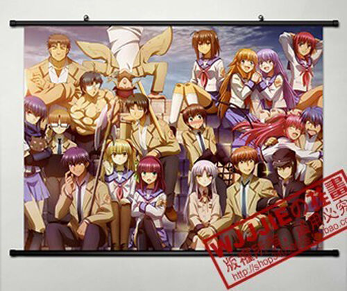Anime Angel Beats! Home Decor Poster Wall Scroll 80*60CM AB046
