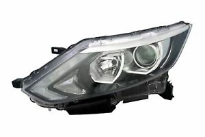 Nissan-Qashqai-14-17-Chrome-Headlight-Headlamp-Left-Passenger-Near-Side-N-S