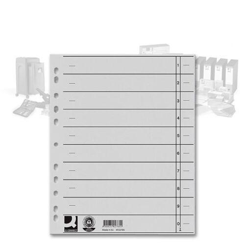 Trennblätter A4 Überbreite grau 230g//m² Manilakarton 0,05€//Stück 100er Pack