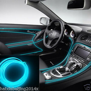 Image Is Loading Car ICE BLUE Cold Light Lamp Neon Lamp