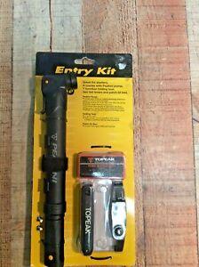 Mini-Bike Pump~Multi Tool~Tire Patch Kit!      ~All included~