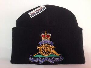 ebfd9ef5594 Royal Artillery - British Army Units - Woolly Turn Up Hat   Woolly ...