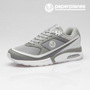 Paperplanes-Mens-Air-Cushioned-Athletic-Shoes-Walking-Running-Sneakers-1421-GR
