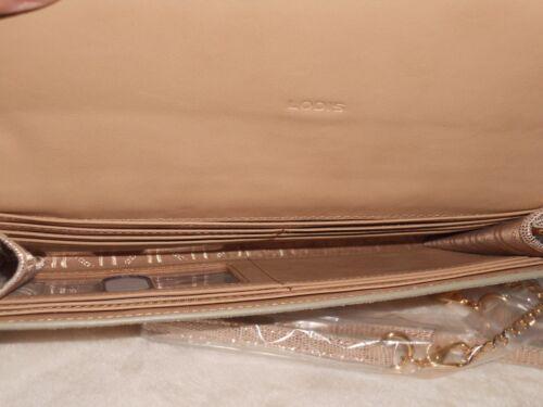 Lodis Sophia Glamorous Nina Convertible Crossbody Rose Gold NWT MSRP 130 REDUCED