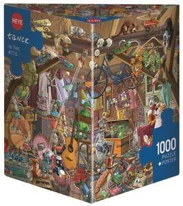 BIRGIT TANCK - IN THE ATTIC - Heye Puzzle 29885 - 1000 Teile Pcs.