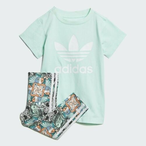 Infant adidas ZOO Top and Leggings Set D98813