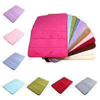 32 X 20''memory Foam Microfibre Bath Room Mat Non-slip Absorbent Rug Pad Carpet