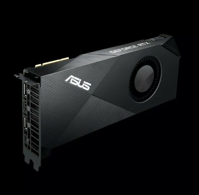 Asus GeForce RTX 2080 8gb Turbo GDDR 6 Turbo-rtx2080-8g Grafikkarte GPU. PayPal!