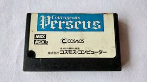 COURAGEOUS-PERSEUS-MSX-MSX2-Game-Cartridge-only-Japan-tested-a430