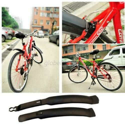 """Front Rear Mud Guards For Bicycle Bike Cycling 26/"""" Mudguard Fenders Set"""