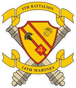 Sticker   USMC Marine Corps 2nd Battalion 7th Marine Regiment Decal