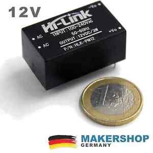Mini-Netzteil-12V-Internet-if-Things-IOT-Einbau-Unterputz-240-V-12-Volt