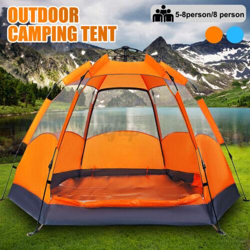 Zelt 4-6 Personen Automatikzelt Campingzelt Strand Trekkingzelt Familie Outdoor