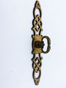 Details About French Provincial Antique Hardware Vintage Drawer Pull Knob  Brass Cabinet Pull
