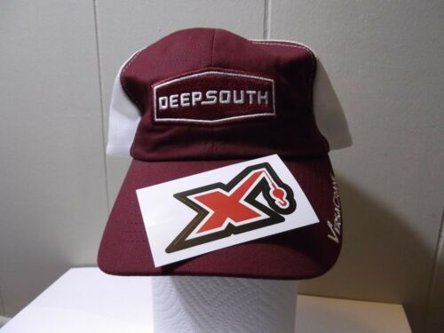 Rare Deep South Trucker Hat and Maxim Sticker Oilfield Union Construction Crane