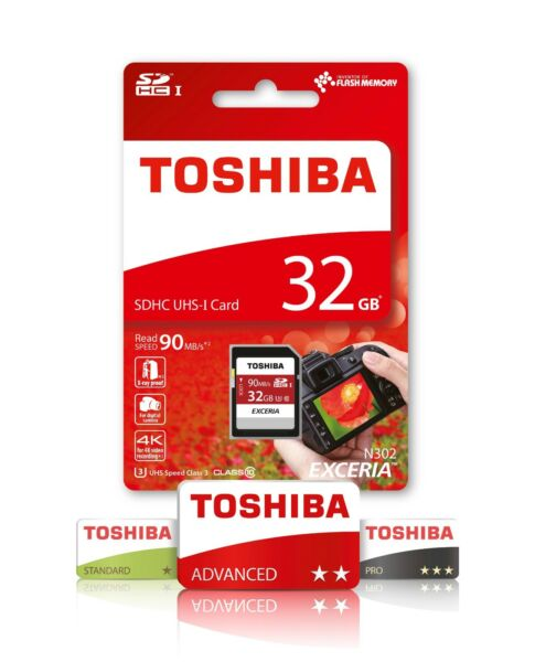 à Condition De Toshiba 32 Go Sd Carte Mémoire Pour Canon Powershot A2000 Est Caméra Mode Attrayante
