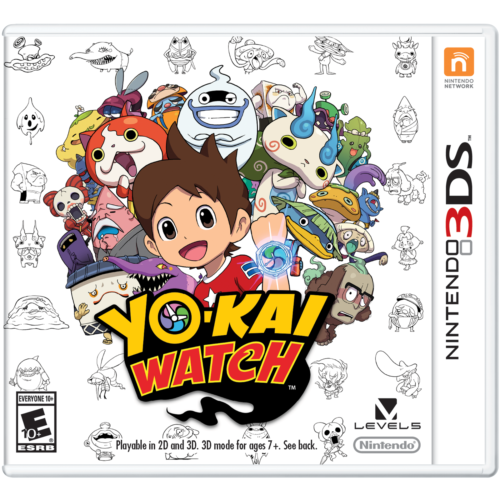 YO-KAI WATCH (Nintendo 3DS, 2015)
