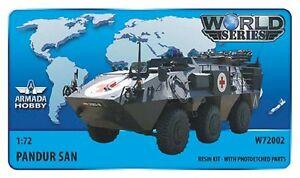 1-72-Pandur-SAN-resin-kit-w-PE-parts-Armada-World-Series-W72002-NEW