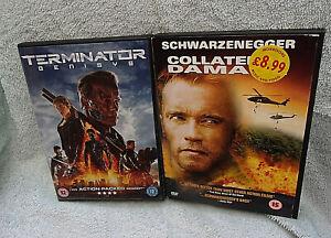 2 x Schwarzenegger DVDs Exc. Cond