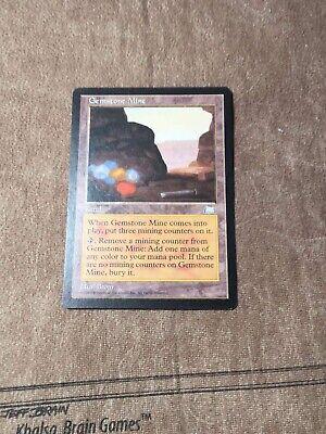 MTG Magic The Gathering Gemstone Mine Weatherlight HP
