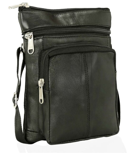 ODS UK® MENS REAL LEATHER TRAVEL SHOULDER MAN BAG CROSS BODY MESSENGER 209f743160e33