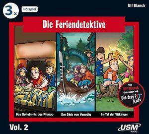 DIE-FERIENDETEKTIVE-DIE-FERIENDETEKTIVE-HORBOX-2-FOLGEN-4-6-3-CD-NEU